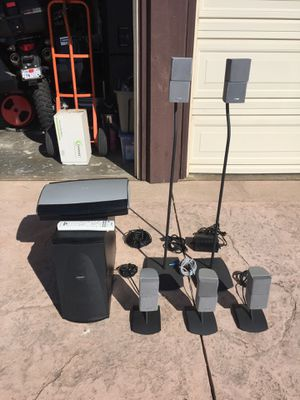 Bose Lifestyle AV38 Speaker System w stands for Sale in Simi Valley, CA