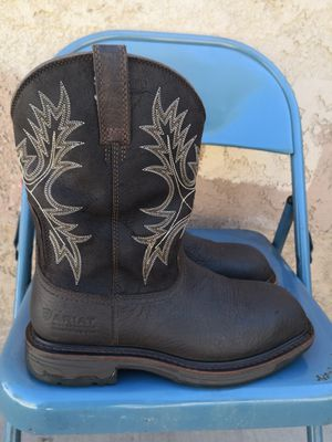 Ariat composite toe work boots size 8EE for Sale in Riverside, CA