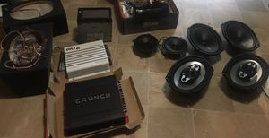 Stereo system and speakers for Sale in Raleigh, NC