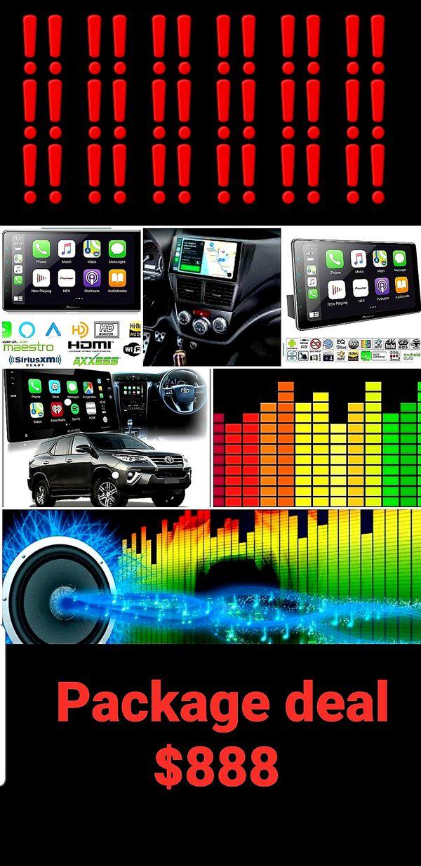 Car audio one