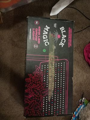 Black magic hydroponic grow light NEW for Sale in Portland, OR