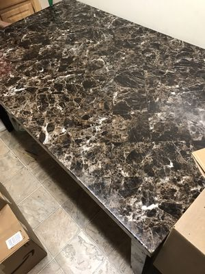 Marble Dining Room Table for Sale in Arlington, VA