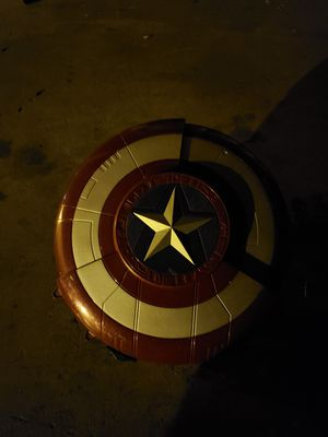 Nerf captain America shield blaster for Sale in Rialto, CA