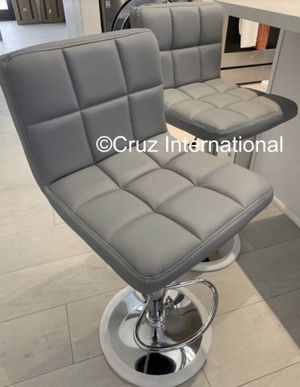 New 2 gray stools for Sale in Orlando, FL