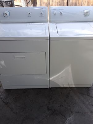 Kenmore washer and dryer works great free delivery and installation within 10 miles radius for Sale in Ontario, CA