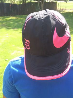 Nike Black and Pink Detroit Tigers Hat for Sale in Douglasville, GA