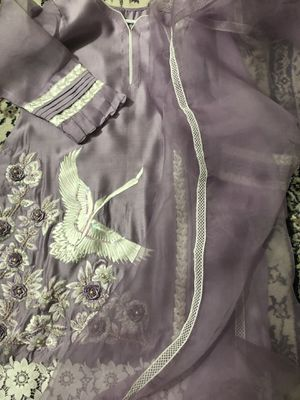 Lilac shirt and dupata! for Sale in Herndon, VA