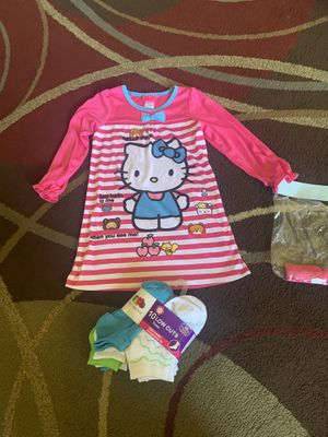 Hello kitty pj set and socks for Sale in Sunnyvale, CA