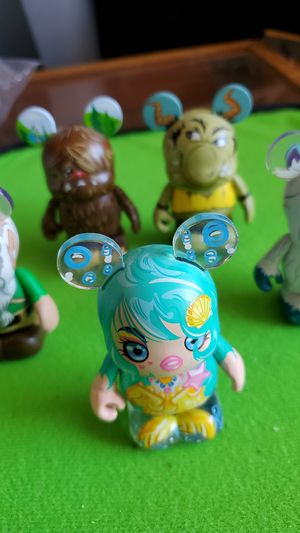 Lot of 5 DISNEY VINYLMATION myths and legends 3inch figure ALL FOR $20 for Sale in Clovis, CA