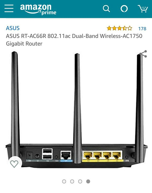 Asus Dual Band AC Gigabit Router