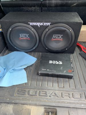Mtx subwoofer for Sale in Lawrenceville, PA
