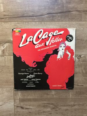 La Cage Aux Folles- The Broadway Musical - Vinyl LP 1983 for Sale in Poway, CA