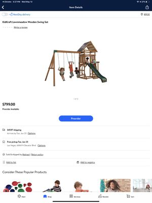 Redwood play set for Sale in Las Vegas, NV