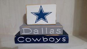 2x4 Dallas sign for Sale in Fresno, CA