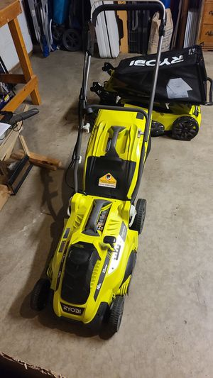 lawn mower electric 16in 13 amp for Sale in Moreno Valley, CA