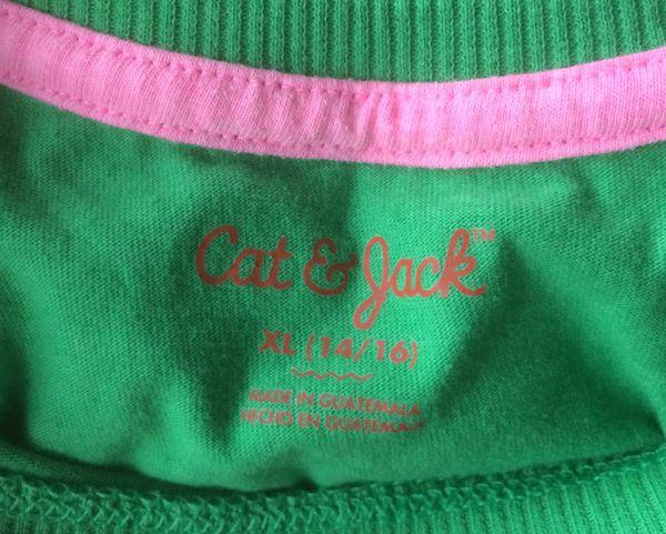 Cat & Jack 'Play Hard & Be A Champion' Baseball Tee/ Shirt, XL (14-16)