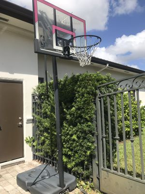 🏀SPALDING NBA 🏀Basketball Hoop with Polycarbonate Backboard for Sale in Miami, FL
