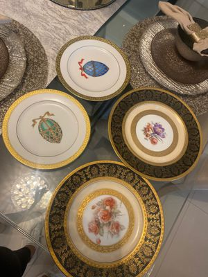 Antique china plates. Set of 4 for Sale in Hialeah, FL