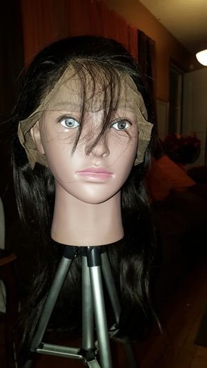 360 full frontal straight 9a 100% Human Virgin wig for Sale in Meridian, MS