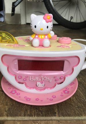Hello Kitty light up clock for Sale in Portland, OR