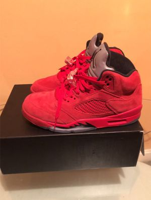 Jordan Red suede 5s for Sale in Gaithersburg, MD