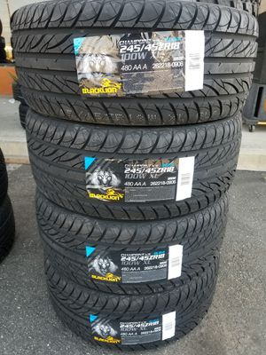 245 45 18 NEW TIRES for Sale in Colton, CA