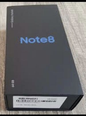 SAMSUNG GALAXY NOTE 8 UNLOCKED for Sale in Houston, TX