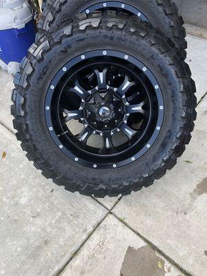Toyo tires, Fuel Wheels for Sale in Clovis, CA