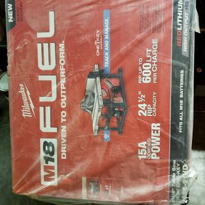 Milwaukee m18 fuel one key tracking table saw kit brand new for Sale in Federal Way, WA