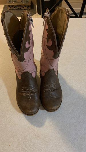 Sturdy little girls size 11 cowgirl boots for Sale in Hillsboro, OR