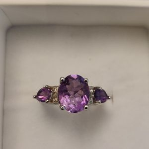 AMETHYST & SILVER RING for Sale in Phoenix, AZ