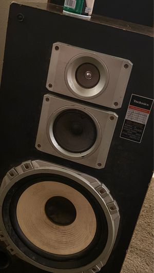 Vintage Technics speakers (for parts) for Sale in University Place, WA