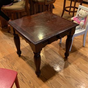 Old Brown Lamp Tables for Sale in Vienna, VA