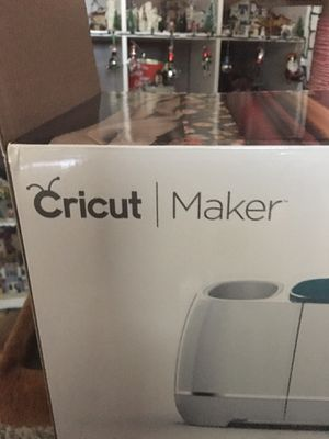 Cricut Maker, Brand new, Trade or sell for Sale in Mesa, AZ