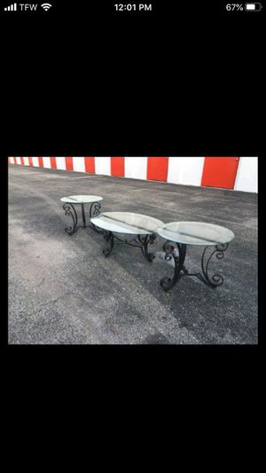 Coffee table set for Sale in Sunrise, FL