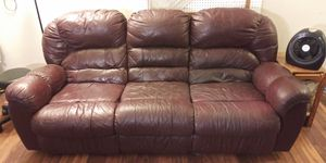 Leather Recliner Couch for Sale in Milwaukie, OR