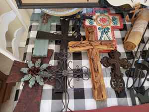 Crosses and decorative wall art for Sale in Orange, CA