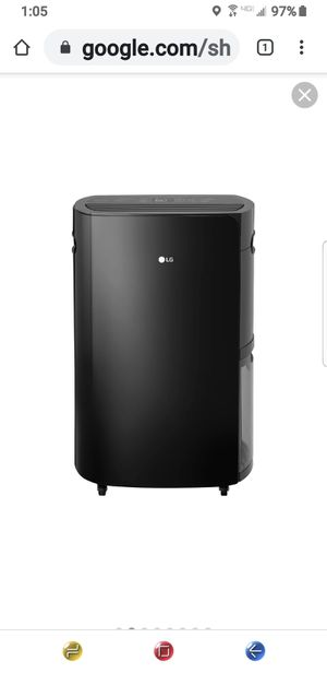 LG Pure Care DEHUMIDIFIER 50 PINT for Sale in Bartow, FL