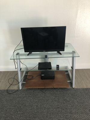 Tv ,DVR, stand, and search protector all for $99 for Sale in Los Angeles, CA