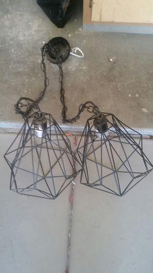 Modern Industrial Black Metal Lamp Shade for Sale in Phoenix, AZ