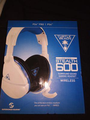 PS4 Turtle Beach wireless headset for Sale in Clovis, CA