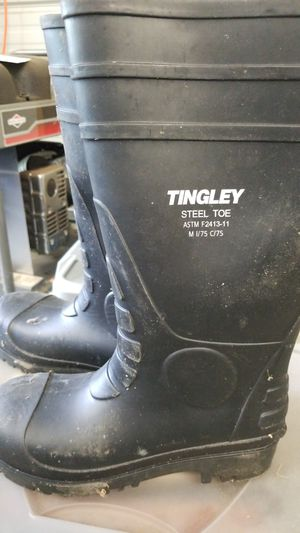 Steel toe rubber boots for Sale in Castalia, NC