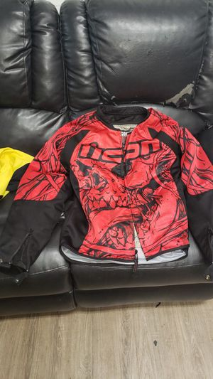 Icon Motorcycle jacket large for Sale in Hudson, FL