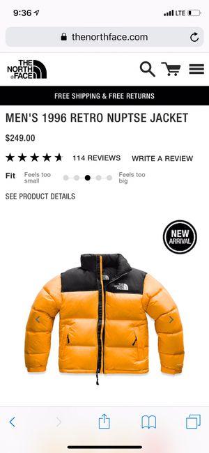 Yellow Men's Coat for Sale in Alexandria, VA