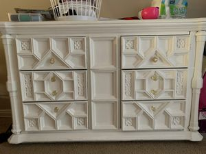 White TV stand for Sale in Anaheim, CA