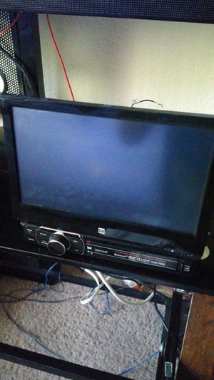 7 inch touch screen deck dvd an bluetooth for Sale in North Las Vegas, NV