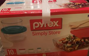 pyrex simply store 10 piece for Sale in Fort Myers, FL