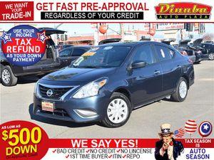 2017 Nissan Versa Sedan for Sale in Dinuba, CA