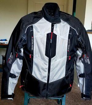 Sedici Women's Motorcycle Jacket XL, BILT Apollo White Helmet XS, BILT Women's Riding Gloves XL for Sale in San Diego, CA