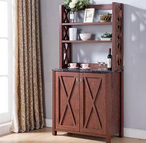 Farmhouse Kitchen Cabinet Walnut for Sale in Chino, CA